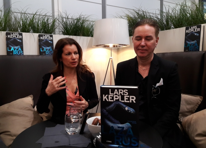 Lars Kepler Meet & greet